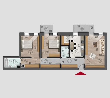 Apartamente 3 camere Top House Residence Metalurgiei Park