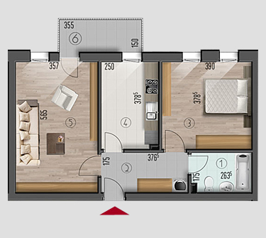 apartamente 2 camere Metalurgiei