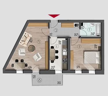 Apartamente Top House Residence
